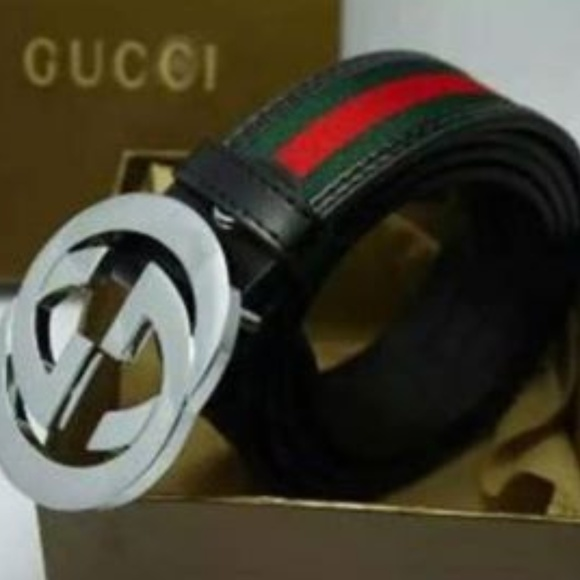 c9e8716923f Gucci Other - Green Red Mens Gucci Belt  USED
